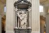 Rome - Archbasilica of St. John Lateran, interior scene: St. Bartholomew statue