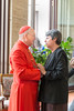 Rome - Pontifical North American College, reception for Cardinal Farrell
