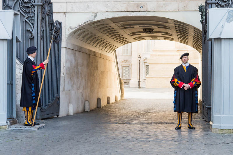 Vatican City - Swiss Guards
