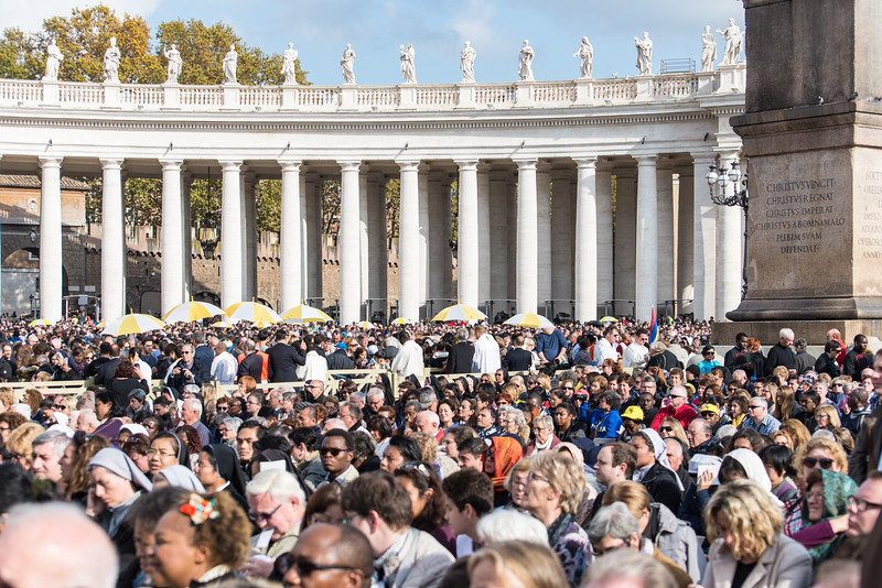 Rome - St. Peter's Square, Mass scene