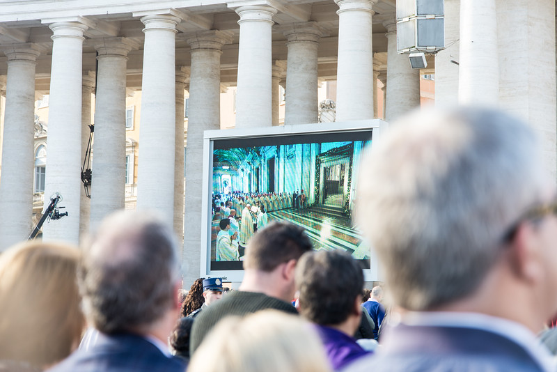 Rome - St. Peter's Square, Pope Francis ceremony to close Holy Door