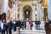Vatican City - St. Peter's Basilica, interior scene