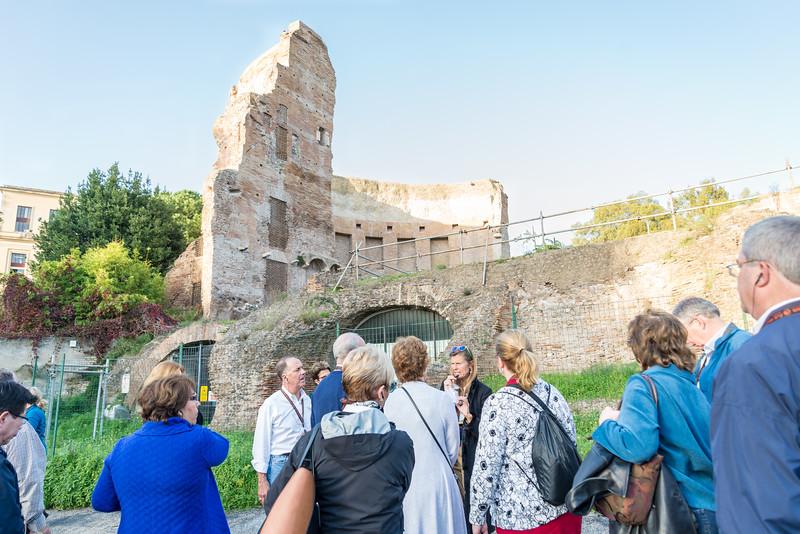 Rome - Ruins of ancient spa