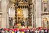 Vatican City - St. Peter's Basilica, cardinals and bishops in place