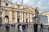 Rome - front of St. Peter's Basilica