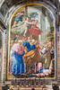 Vatican City - St. Peter's Basilica, painting above Altar of Falsehood