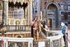 Rome - Archbasilica of St. John Lateran, interior scene: St. John the Baptist statue