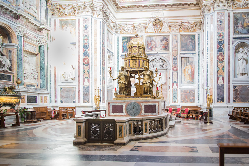 Rome - Basilica of St. Mary Major, Sistine Chapel and Oratory of the Nativity
