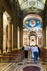 Rome - Basilica of the Holy Cross in Jerusalem, the nave