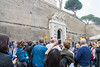 Rome - at the Vatican Museum entrance