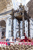 Vatican City - St. Peter's Basilica, papal altar and cardinals chairs