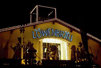 September 24th-27th, 1970 / Oktoberfest Trip: The beer drinking fairgrounds. Löwenbräu was my favorite. (Photo courtesy of Ken Barnes)