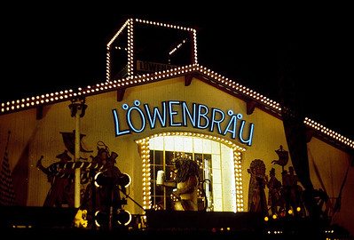 September 24th-27th, 1970 / Oktoberfest Trip: The beer drinking fairgrounds. Löwenbräu was my favorite. (Photo courtesy of Ken Barnes)