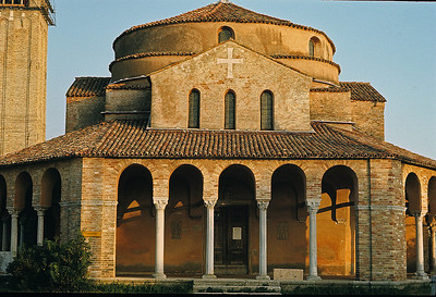 October 9th-11th, 1970 /  Venice trip: The island of Torcello, famous for its pre-Gothic church built in 639 AD.