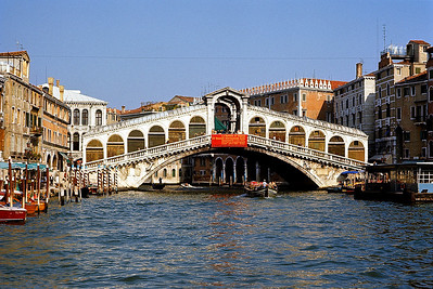 October 9th-11th, 1970 /  Venice trip: Ponte di Rialto