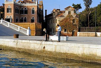 October 9th-11th, 1970 /  Venice trip:  Fishing?