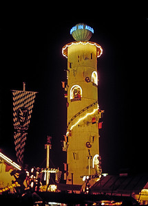 September 24th-27th, 1970 / Oktoberfest Trip:  The Munich fairgrounds. (Photo courtesy of Ken Barnes)