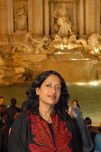 Anu in Rome, Italy.