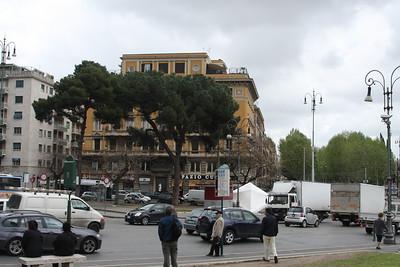 Street near St. John Lateran