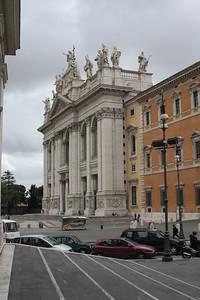 East facade of St. John Lateran