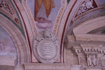 """""""The sacrosanct Lateran is the mother and head of all churches of the city and the world."""""""