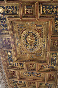 Ceiling of nave of Basilica of St. John Lateran