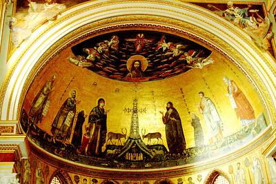 Mosaic in apse of St. John Lateran