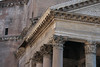 Classic Roman detail can be seen in the cornices of the Pantheon.