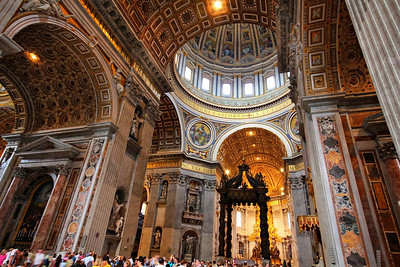 Sanctuary in St. Peter's Basilica
