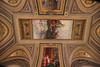 Vatican ceiling detail.