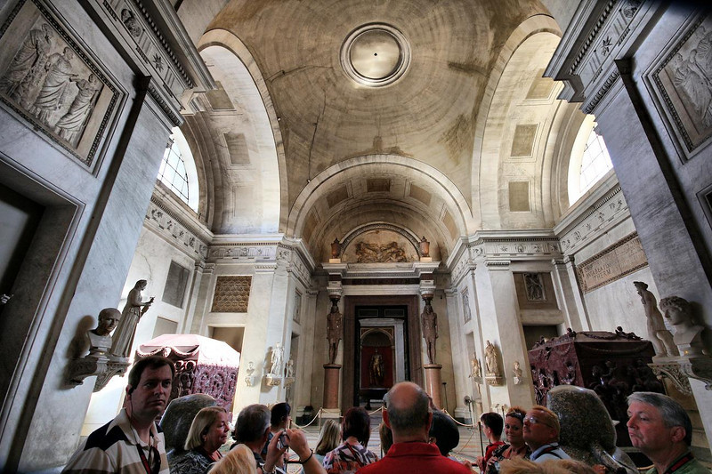 Some of our Globus tour buds are shown here as we entered the Vatican. August 2, 2010