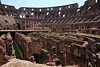 The religious governments that followed the Roman empire considered the Colosseum a pagan site and neglected it for centuries.