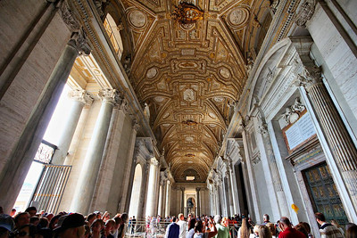 Vatican- a front porch like no other.