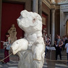 "Famous ""Belvedere Torso"" - found in Rome at end of 15th century"