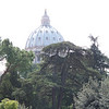 View of St. Peter's from Vatican Museum