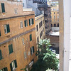 view out our window from 43 Via Firenze