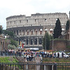 Collosseo (Colloseum) or properly called Flavium Amphitheatre