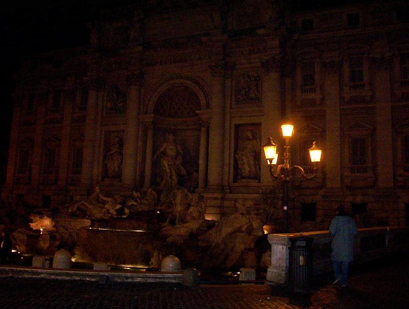 La Fontana Trevi