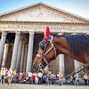 Pantheon and horse