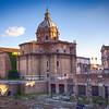 Church and Forum Romanum