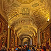 Hallway leading to Sistine Chapel