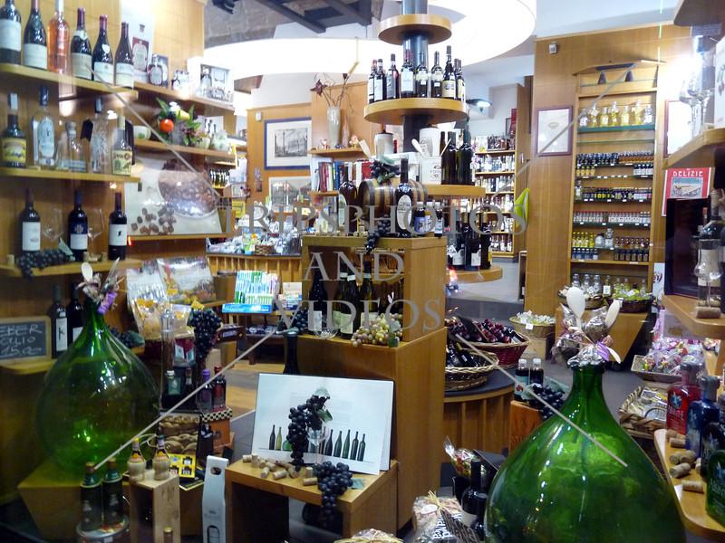 A souvenir shop in Rome, Italy.
