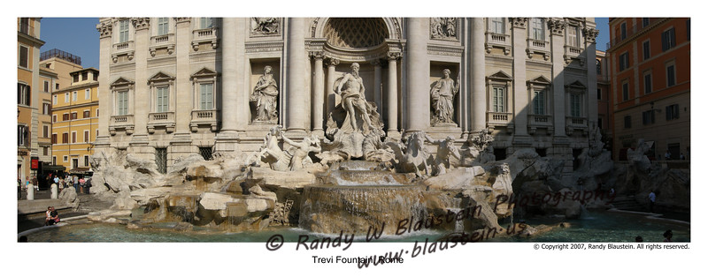 Trevi Fountain Rome, Italy