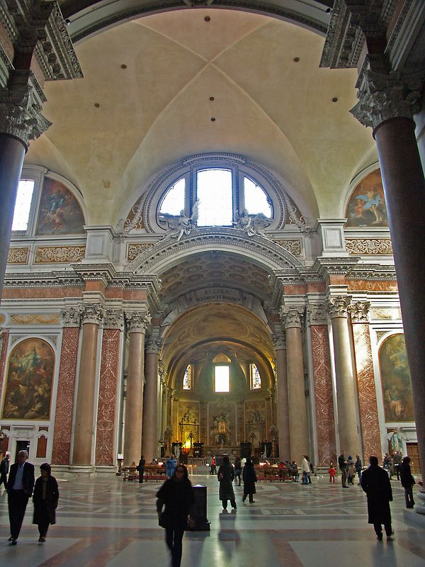 The church of Santa Maria Degliangeli