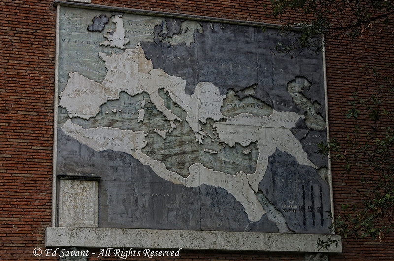 Map of the Roman Empire at its peak. Amazing how far it extended.