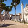Column and church
