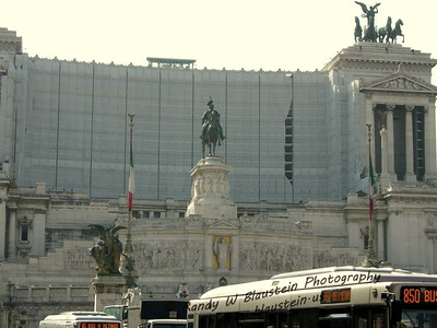 National Monument of Victor Emmanuel II, also known as Altar of the Fatherland, and also known as Il Vittoriano
