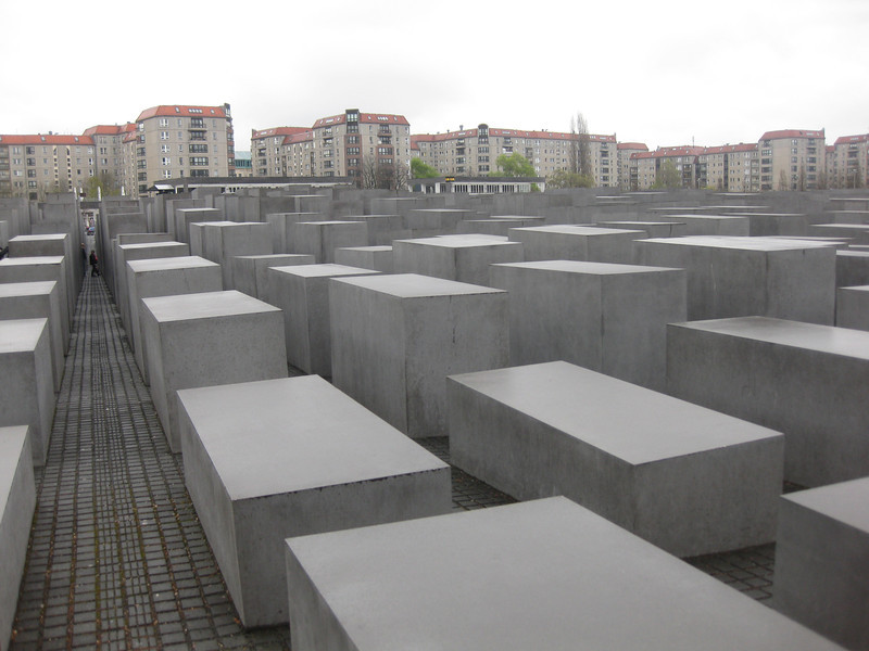 The Holocaust Memorial near the Brandenburger Tor.  Very powerful.
