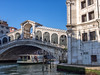 Vaporetto Under the Rialto Bridge
