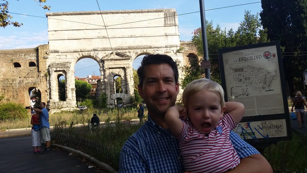 Rome city gates